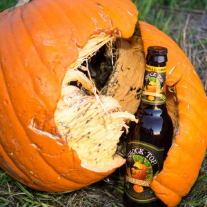 BULL ON TAP: SHOCK TOP PUMPKIN